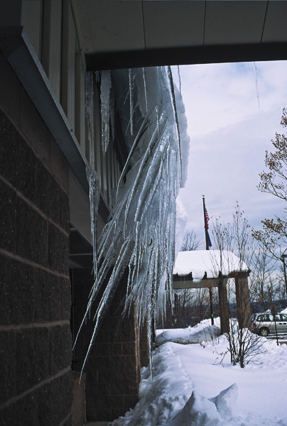 spectacular icicles